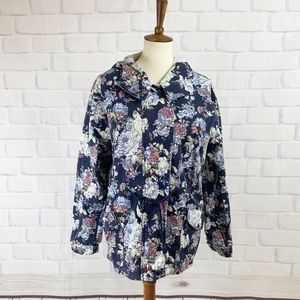 Urban Outfitters Margot Floral Utility Jacket I L